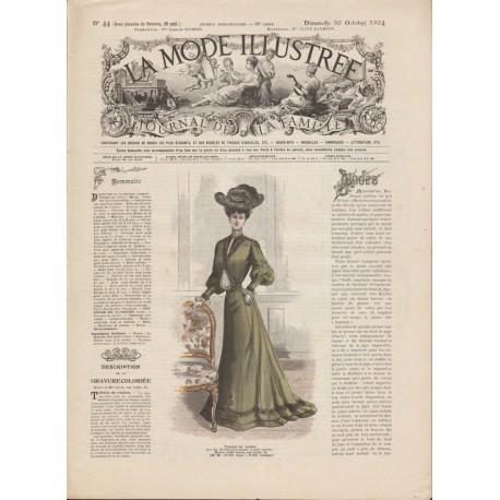 Complete magazine La Mode Illustrée 1904 N°44