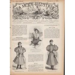 Complete magazine La Mode Illustrée 1895 N°31