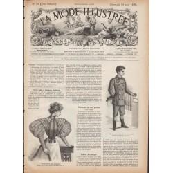 Revue complète de La Mode Illustrée 1895 N°33