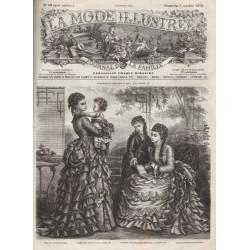 Revue complète de La Mode Illustrée 1873 N°40