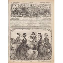Complete magazine La Mode Illustrée 1870 N°29