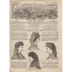 Revue complète de La Mode Illustrée 1870 N°08