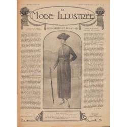 Revue complète de La Mode Illustrée 1918 N°10