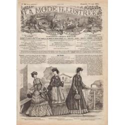 Complete magazine La Mode Illustrée 1870 N°20