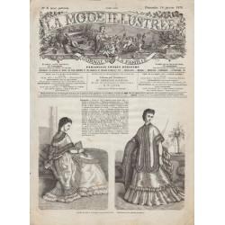 Complete magazine La Mode Illustrée 1870 N°03