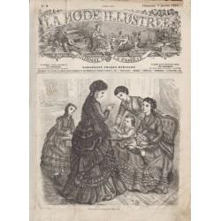 Complete magazine La Mode Illustrée 1870 N°02
