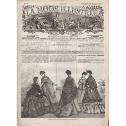 Complete magazine La Mode Illustrée 1870 N°05