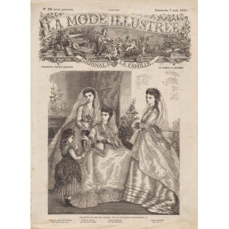 Revue complète de La Mode Illustrée 1870 N°32
