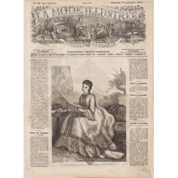Complete magazine La Mode Illustrée 1870 N°38