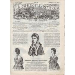 Complete magazine La Mode Illustrée 1871 N°24