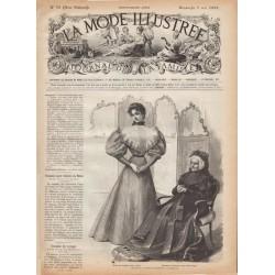 журнал мода La Mode Illustrée 1895 N°18