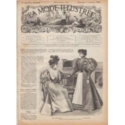 Complete magazine La Mode Illustrée 1895 N°44