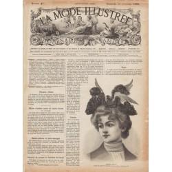 Complete magazine La Mode Illustrée 1895 N°45