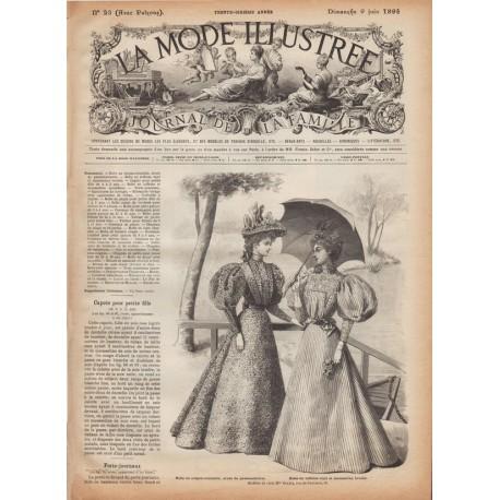Complete magazine La Mode Illustrée 1895 N°23