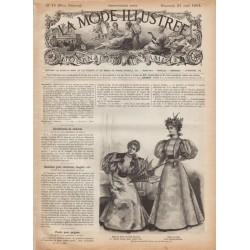 журнал мода La Mode Illustrée 1895 N°16