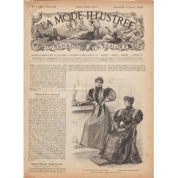 журнал мода La Mode Illustrée 1895 N°05