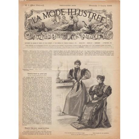 Complete magazine La Mode Illustrée 1895 N°05