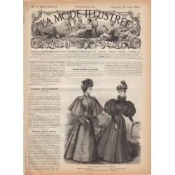 журнал мода La Mode Illustrée 1895 N°10