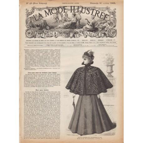 Complete magazine La Mode Illustrée 1895 N°42