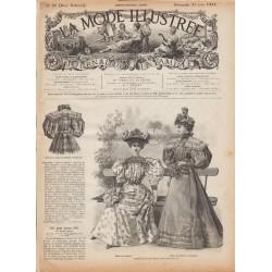 журнал мода La Mode Illustrée 1895 N°25