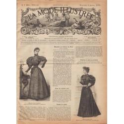журнал мода La Mode Illustrée 1895 N°01