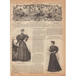 Revue complète de La Mode Illustrée 1895 N°01
