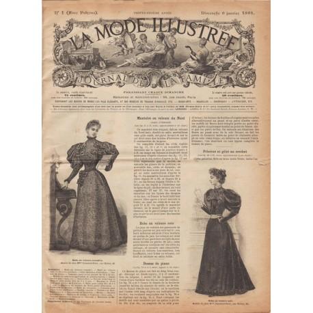 Complete magazine La Mode Illustrée 1895 N°01