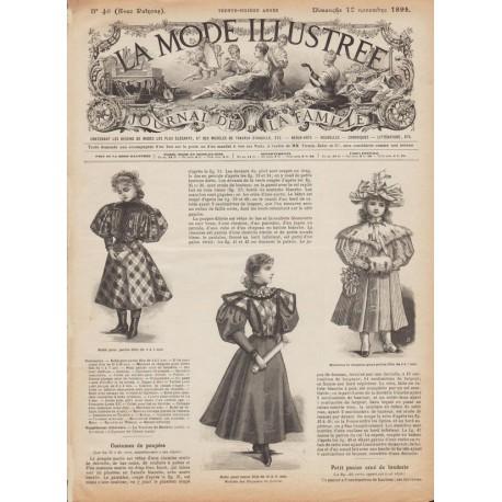 Revue complète de La Mode Illustrée 1895 N°46