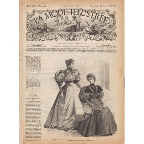 Revue complète de La Mode Illustrée 1895 N°03