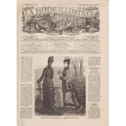 Complete magazine La Mode Illustrée 1877 N°42