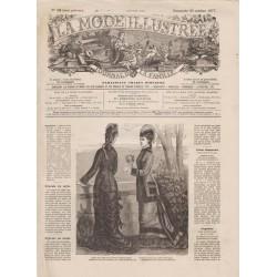 Revue complète de La Mode Illustrée 1877 N°42