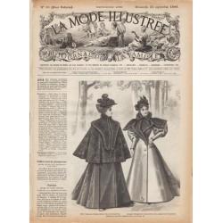 Complete magazine La Mode Illustrée 1895 N°38