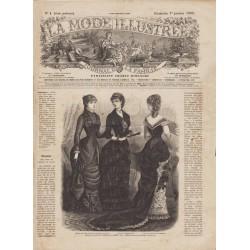 Revue complète de La Mode Illustrée 1882 N°01