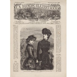 Complete magazine La Mode Illustrée 1882 N°43