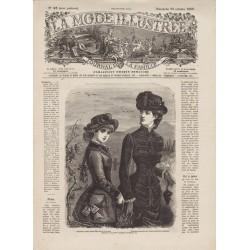 Revue complète de La Mode Illustrée 1882 N°43