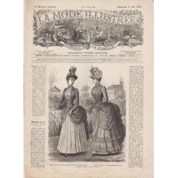 Complete magazine La Mode Illustrée 1886 N°32