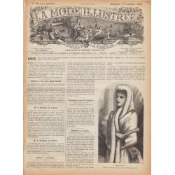 Revue complète de La Mode Illustrée 1889 N°46