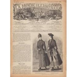 Complete magazine La Mode Illustrée 1889 N°51