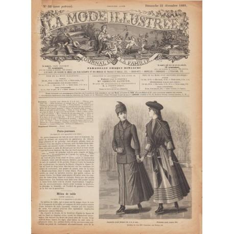 Revue complète de La Mode Illustrée 1889 N°51