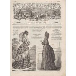 Complete magazine La Mode Illustrée 1871 N°38