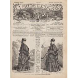 Complete magazine La Mode Illustrée 1871 N°51