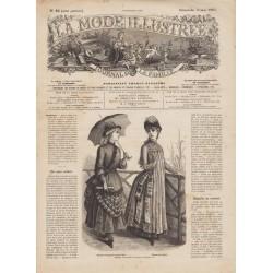 журнал мода La Mode Illustrée 1885 N°18