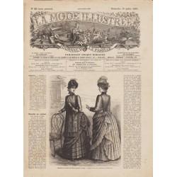 Complete magazine La Mode Illustrée 1885 N°29