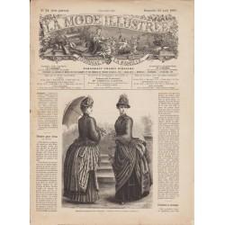 Complete magazine La Mode Illustrée 1885 N°34