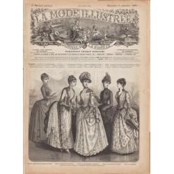 Complete magazine La Mode Illustrée 1885 N°36