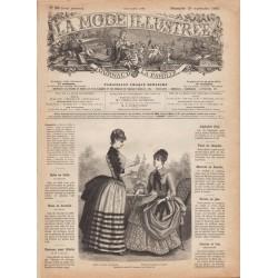 Complete magazine La Mode Illustrée 1885 N°38