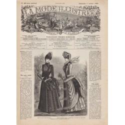 Complete magazine La Mode Illustrée 1885 N°40