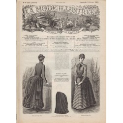 журнал мода La Mode Illustrée 1885 N°06