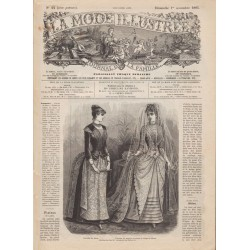 Revue complète de La Mode Illustrée 1885 N°44