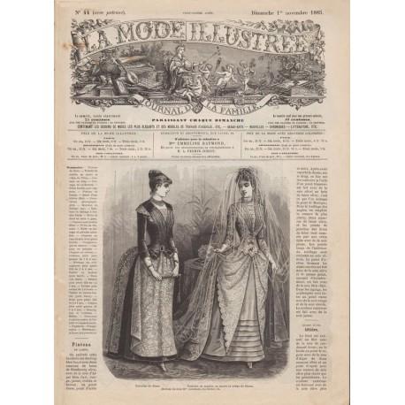 Complete magazine La Mode Illustrée 1885 N°44
